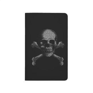 Hacker Skull and Crossbones Journal