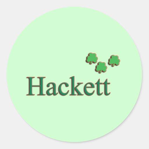 Hackett Family Stickers
