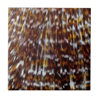 Hackle Feather Design Tile