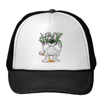 hackwhiteonwhite trucker hat