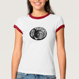 Had Enough of Obama? women's ringer shirt
