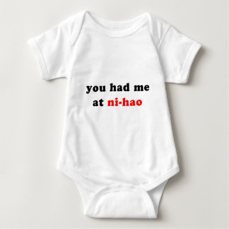 had me at ni-hao baby bodysuit
