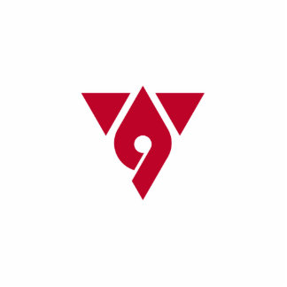 Hadano, Kanagawa, Japan flag Photo Cut Out