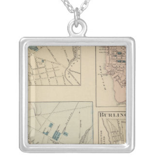 Haddonfield, Gloucester City, Burlington Silver Plated Necklace