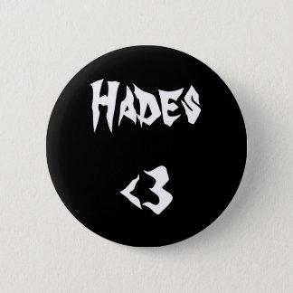 Hades <3 6 cm round badge
