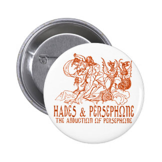 Hades and Persephone Pinback Buttons