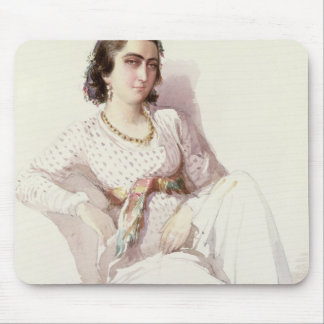 Hadice Hanim - lady from Istanbul, 1852 Mouse Pad