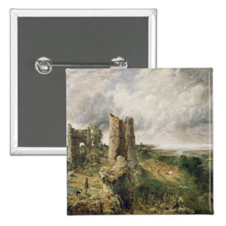 Hadleigh Castle, 1829 (oil on canvas) 15 Cm Square Badge