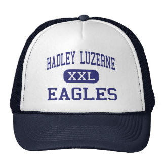 Hadley Luzerne - Eagles - High - Lake Luzerne Trucker Hats