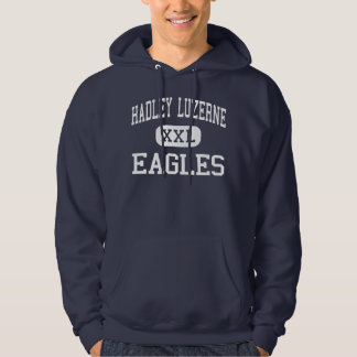 Hadley Luzerne - Eagles - High - Lake Luzerne Hooded Pullovers