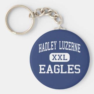 Hadley Luzerne - Eagles - High - Lake Luzerne Keychain