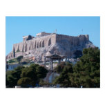 hadrian & acropolis postcards