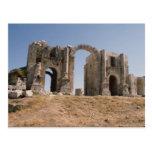 Hadrian's Arch, Jerash, Jordan Postcard