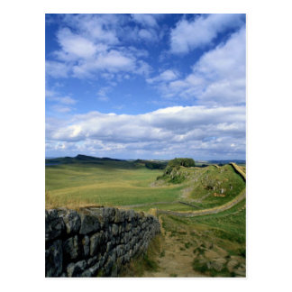 Hadrian's Wall and Swingshields Crags from Cuddy's Postcard