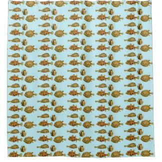 Haeckel Fish Shower Curtain