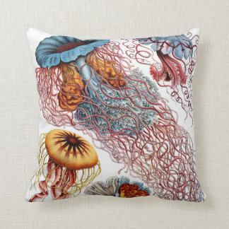 Haeckel ~ Jellyfish Cushions