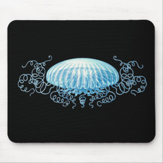 Haeckel Jellyfish Mouse Mat