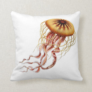 Haeckel Jellyfish pillow