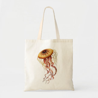 Haeckel Jellyfish Tote Bag