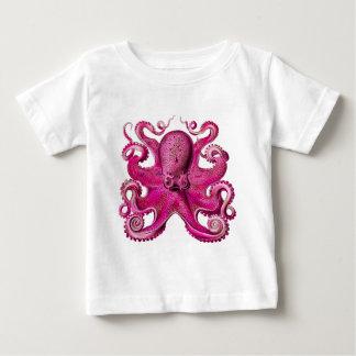 Haeckel Octopus Pink Baby T-Shirt