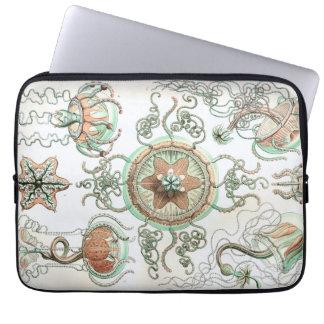 Haeckel Trachomedusae Computer Sleeve