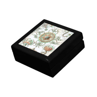 Haeckel Trachomedusae Keepsake Boxes