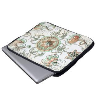 Haeckel Trachomedusae Laptop Computer Sleeve