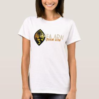 Hafa Adai Guam Vintage tee - female