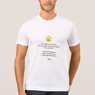 Hafiz Poem T-shirts