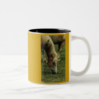 Haflinger Coffee Cup Two-Tone Mug