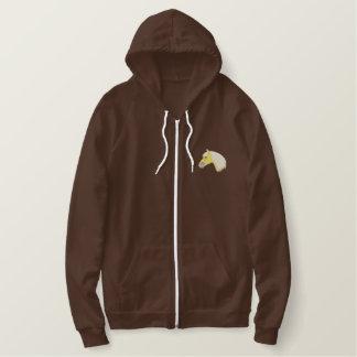 Haflinger Embroidered Hoodie