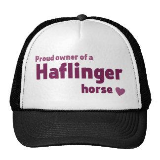 Haflinger horse cap