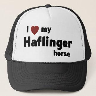 Haflinger horse trucker hat