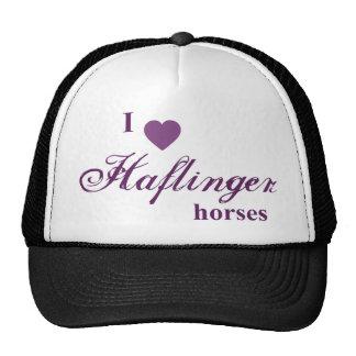 Haflinger horses trucker hat