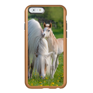 Haflinger Horses Cute Baby Foal With Mum Photo .. Incipio Feather® Shine iPhone 6 Case