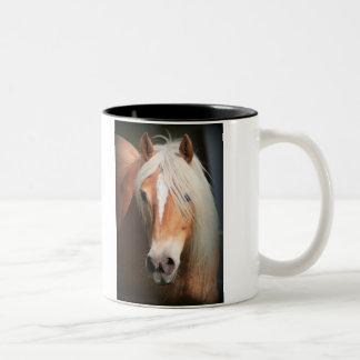 Haflinger Two-Tone Coffee Mug