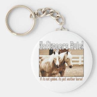 Haflingers Rule Keychains
