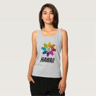 HAfS Women's Basic Tank Top (Grey/Hawaii Logo)