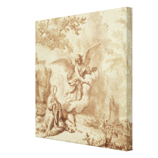 Hagar in the Wilderness Stretched Canvas Prints