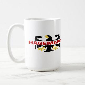Hagemann Surname Basic White Mug
