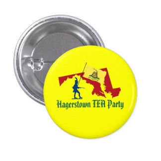 Hagerstown TEA Party Small Button