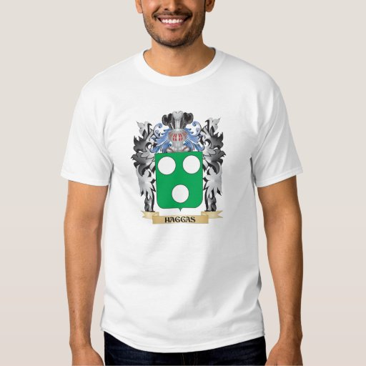 Haggas Coat of Arms - Family Crest Tshirt