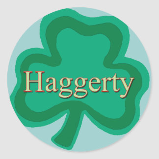 Haggerty Family Round Sticker
