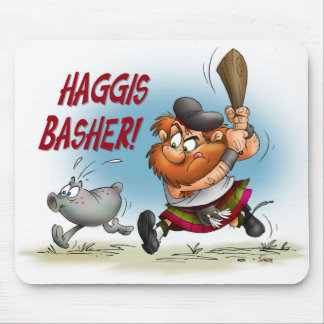 Haggis Basher Mouse Pad