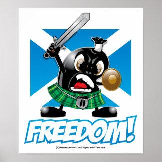 Haggis Freedom Poster