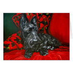 Haggis the Scottish Terrier Greeting Card