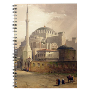 Haghia Sophia, plate 17: exterior view of the mosq Notebook