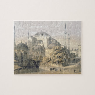 Haghia Sophia, plate 19: exterior view of the mosq Puzzle