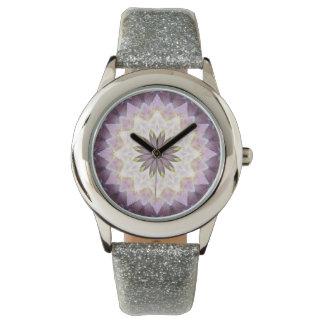 Hagi Healing Mandala Watch glitter
