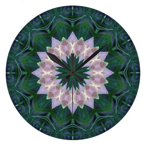 Hagi Mandala Round Wallclock